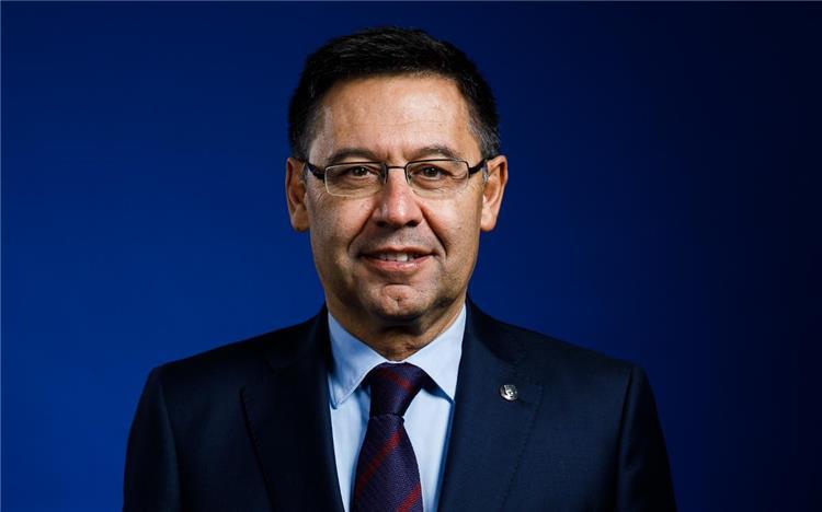جوسيب ماريا بارتوميو رئيس برشلونة