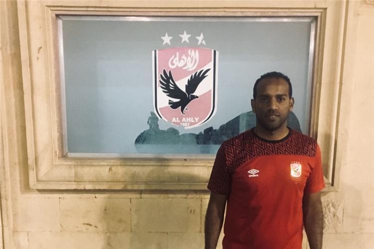 محمد سمارة لاعب الاهلي والمقاولون العرب السابق