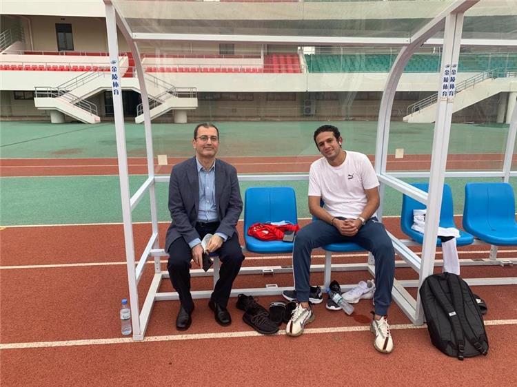 سفير مصر مع محمد فضل