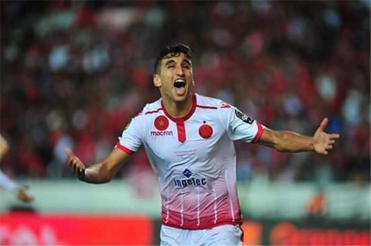 وليد الكرتي لاعب الوداد المغربي