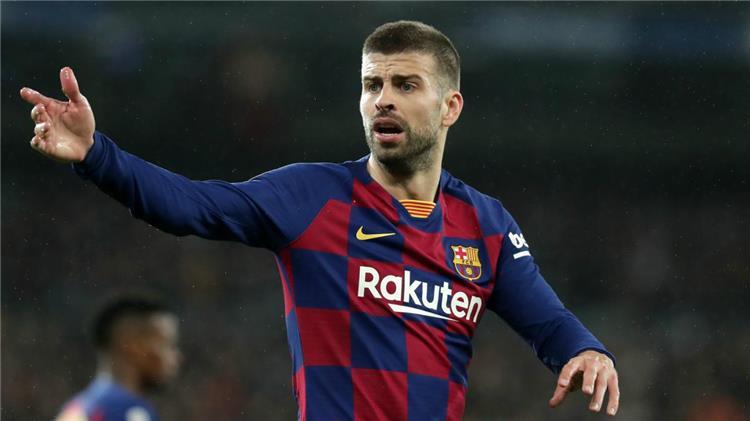 جيرارد بيكيه مدافع برشلونة