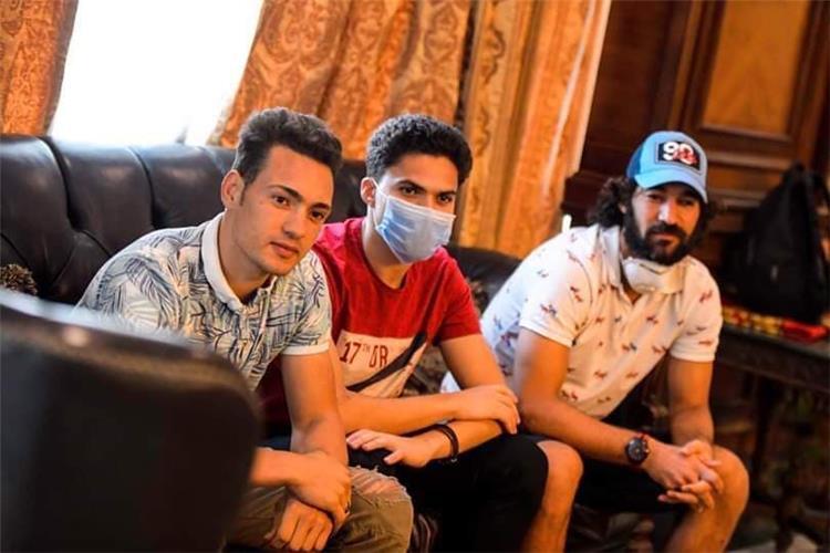 اجتماع محمد عبد السلام مع اللاعبين والجهاز الفني للمقاصة