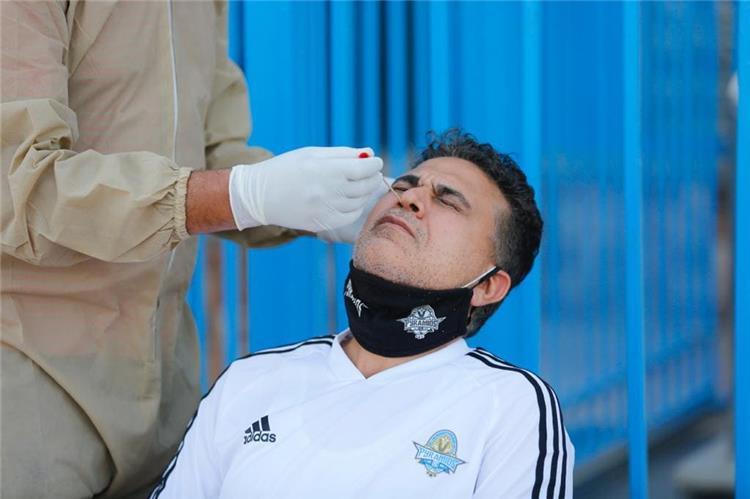 مسحة طبية للاعبي بيراميدز