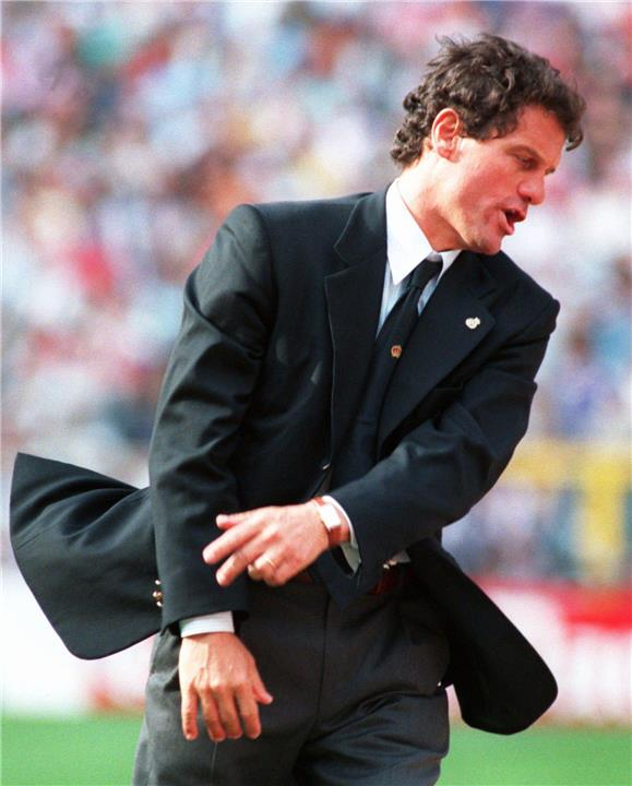 كابيلو في التسعينات مع ريال مدريد