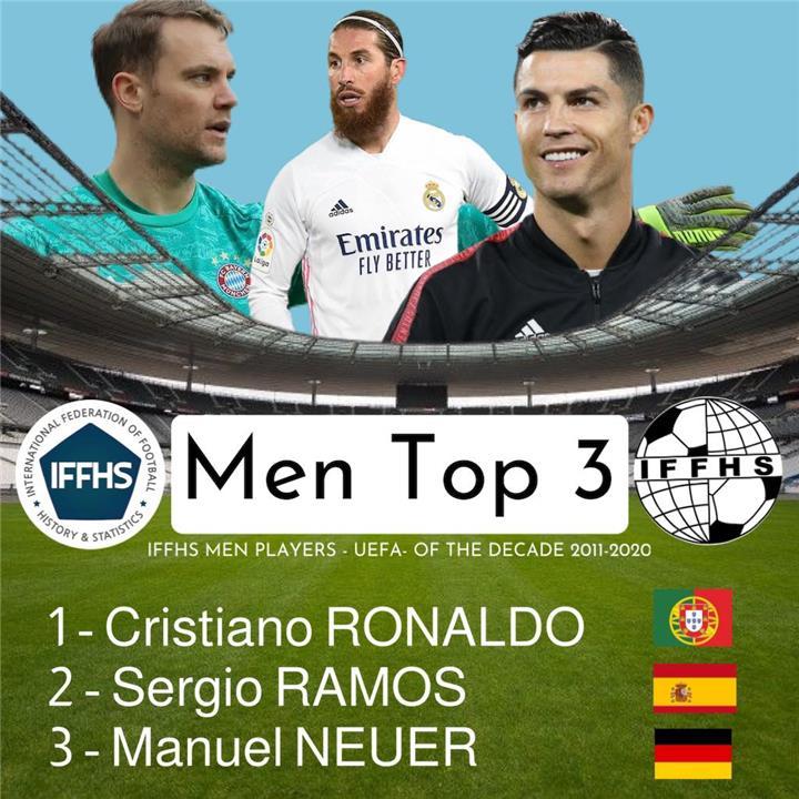 رونالدو أفضل لاعب في أوروبا