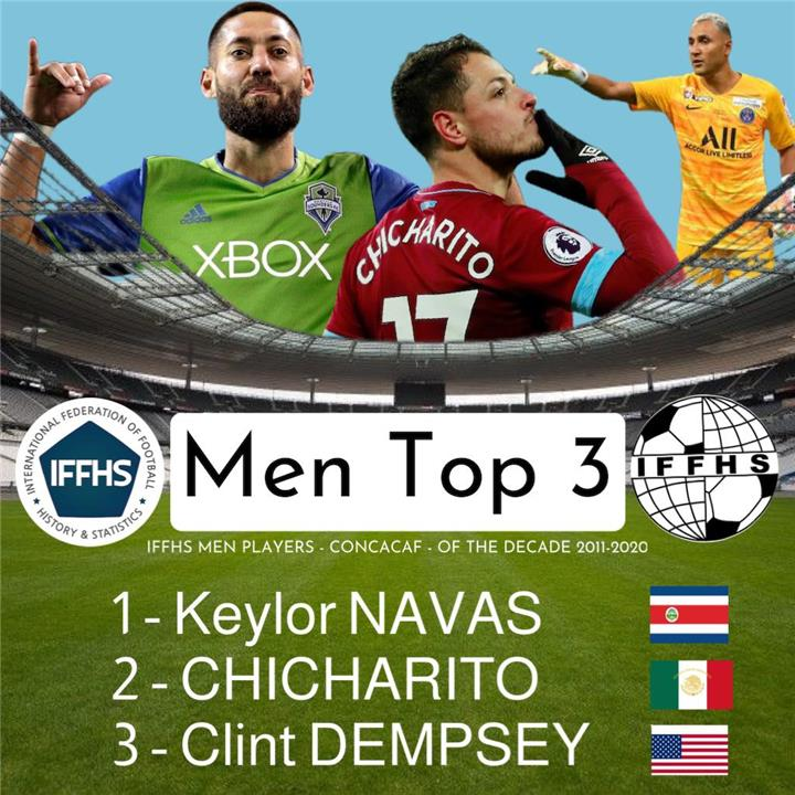 نافاس أفضل لاعب في أمريكا الشمالية
