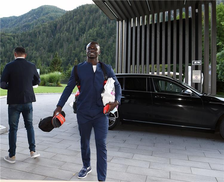 ماني يصل إلى معسكر النمسا