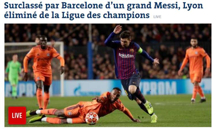 عنوان صحيفة لو موندو