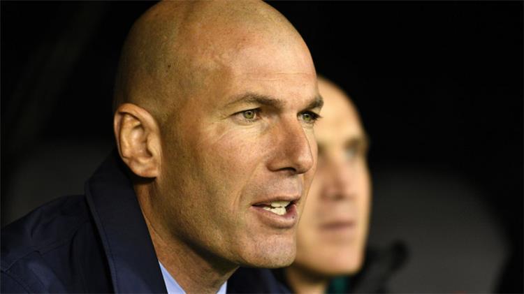 زيدان مستقبلي في ريال مدريد ليس مهم ا