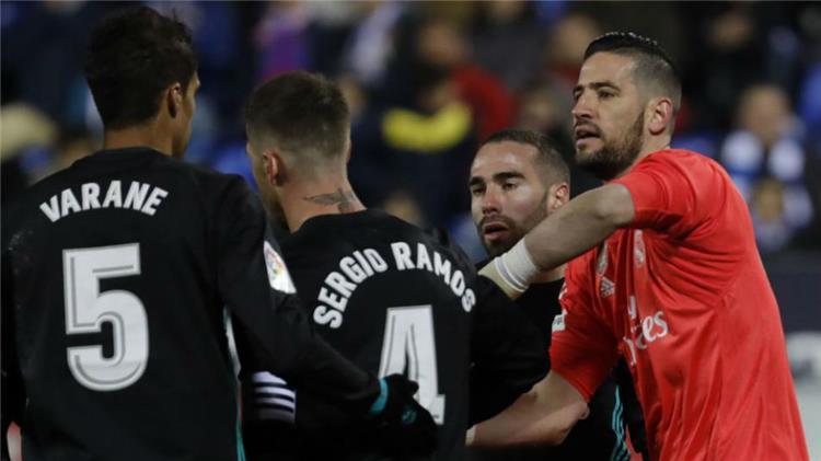 حارس ريال مدريد ي شيد بـ كاسيميرو بعد الفوز على ليجانيس