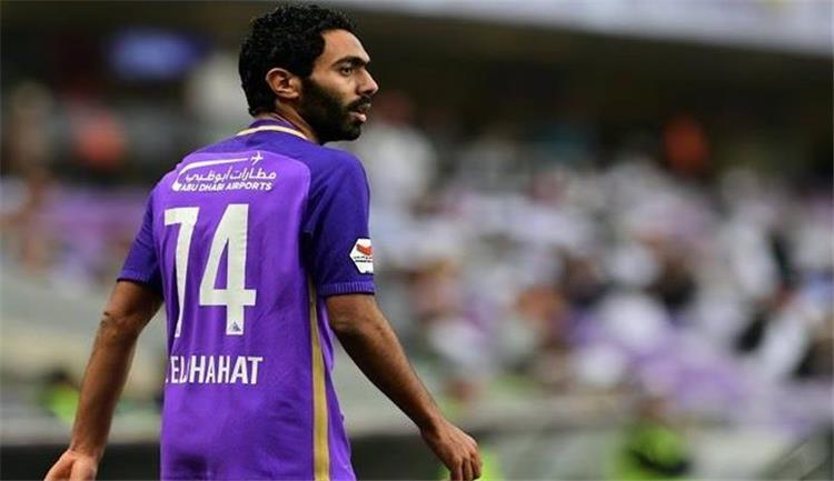 حسين الشحات أساسي ا مع العين أمام الشارقة في الدوري الإماراتي