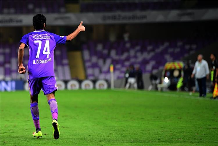 فيديو حسين الشحات ي سجل الهدف الخامس للعين أمام الوحدة