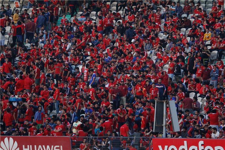 جماهير الأهلي في أحد المباريات