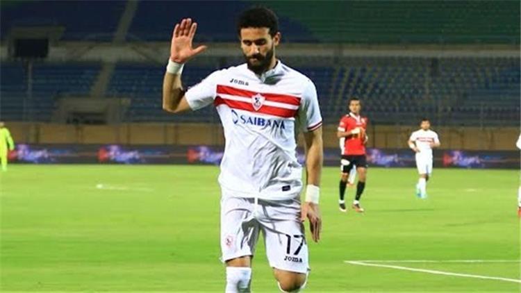 باسم مرسي لاعب الزمالك ومنتخب مصر