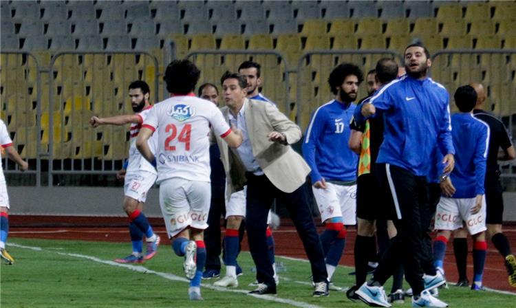 خالد جلال المدير الفني للزمالك