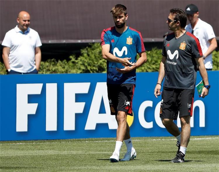 رد فعل لاعبي برشلونة بعد تعيين لوبيتيجي مدرب ا لريال مدريد