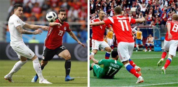 موعد مباراة مصر وروسيا في كأس العالم والقنوات الناقلة بطولات
