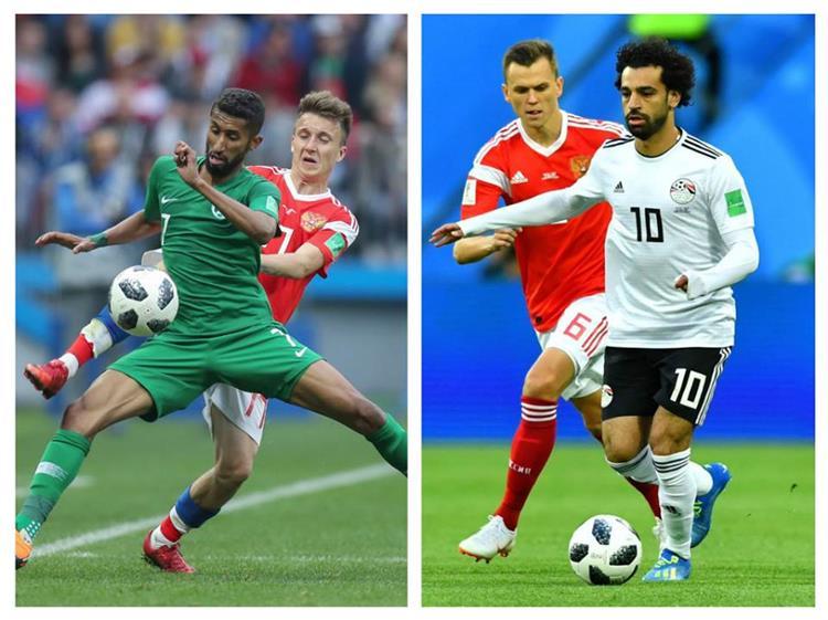موعد مباراة مصر والسعودية والقناتين الناقلتين بطولات