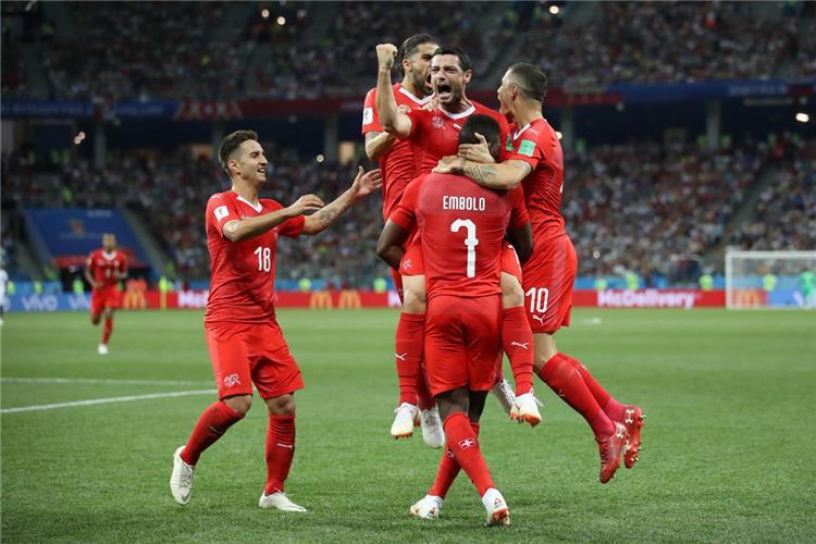 فيديو سويسرا تتعادل 2 2 مع كوستاريكا بكاس العالم اليوم