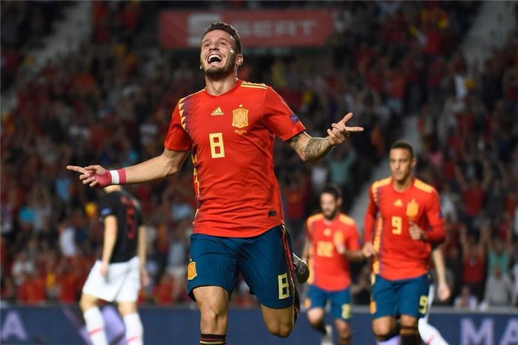 نتيجة بحث الصور عن اسبانيا وكرواتيا