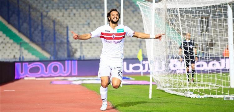 محمود علاء مدافع الزمالك