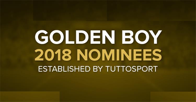 جائزة الفتى الذهبي 2018