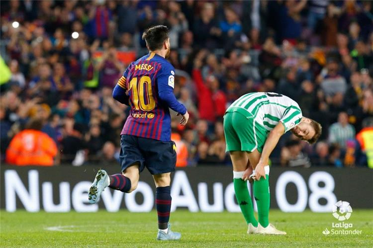 فيديو ريال بيتيس ي سقط برشلونة برباعية مع عودة ميسي