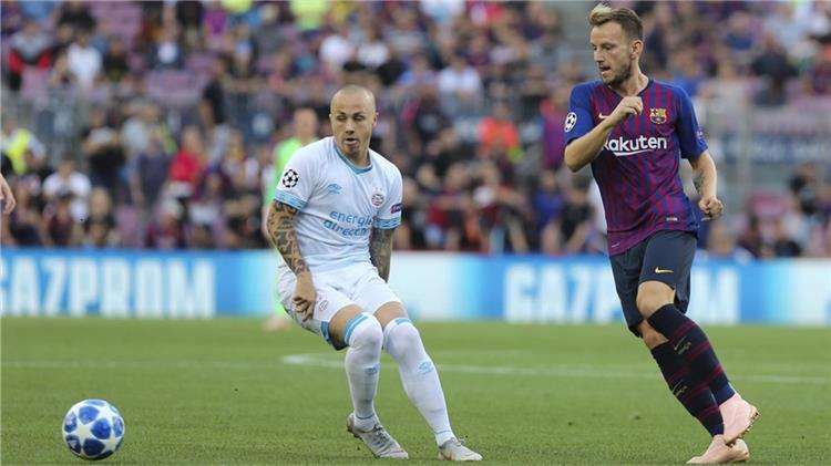 راكيتيتش يستهدف العودة لبرشلونة أمام إيندهوفن بدوري الأبطال