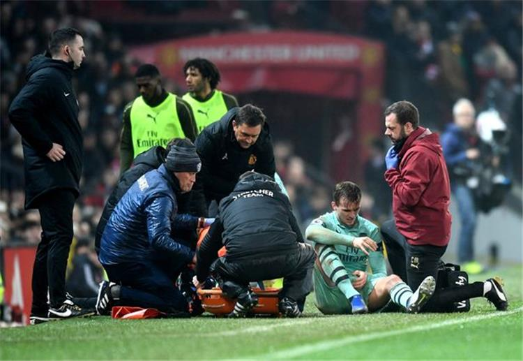 Injured player El Gouna cut in the cruciate ligament and absence until the end of the season 88