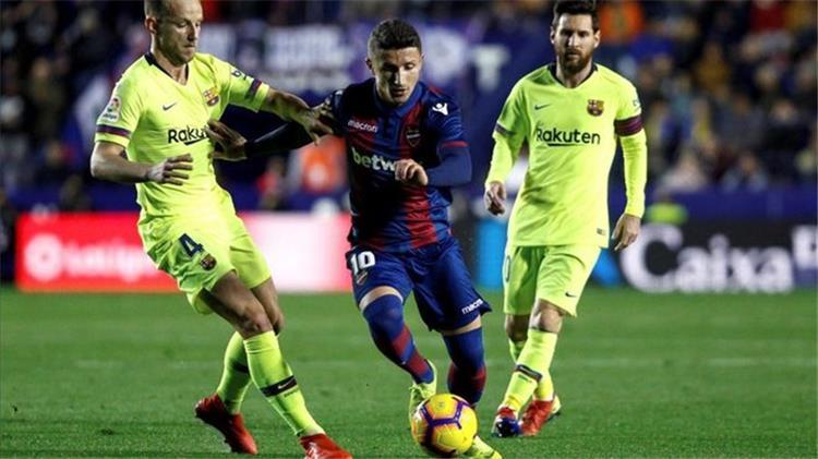 راكيتيتش: برشلونة يستحق الفوز على ليفانتي.. ونستمتع بما يفعله ميسي وسواريز