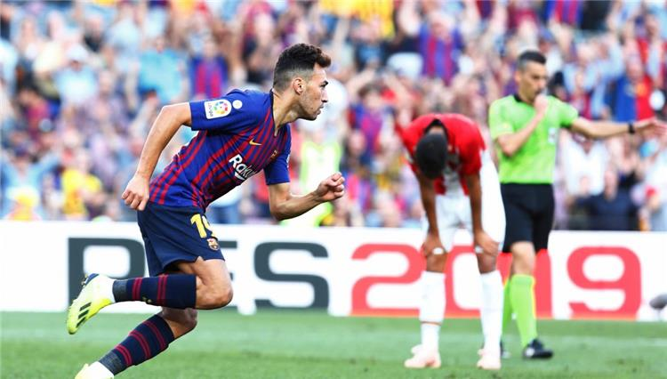 Barcelona officially announces the departure of Mounir El Haddadi to Sevilla 1