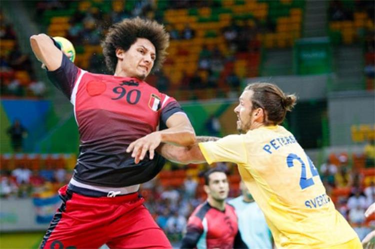 Egypt lose from Sweden in a strong World Handball Championship match 1
