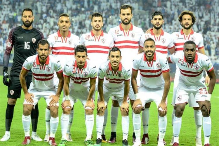 The date and channel of the match between Zamalek and Tangier Union today in the Confederation 1