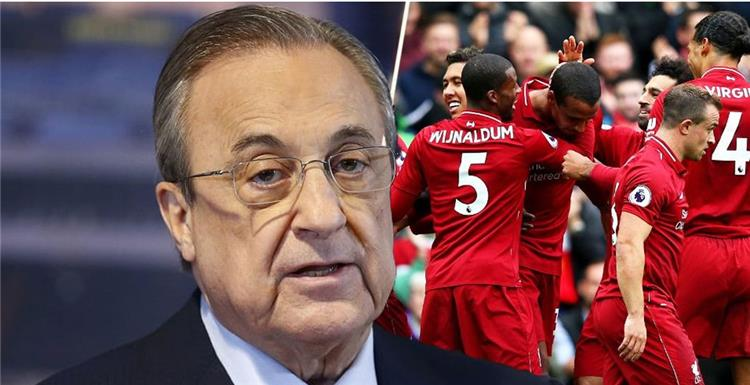 Liverpool displays his player on Real Madrid .. The Royal Club responds 1
