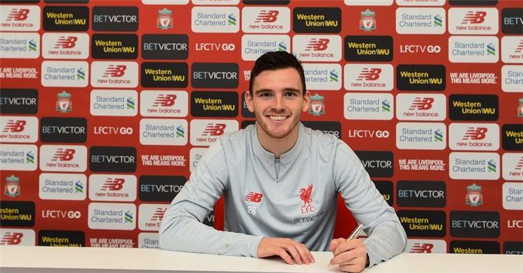 رسميا.. ليفربول يجدد عقد روبيرتسون حتى 2024