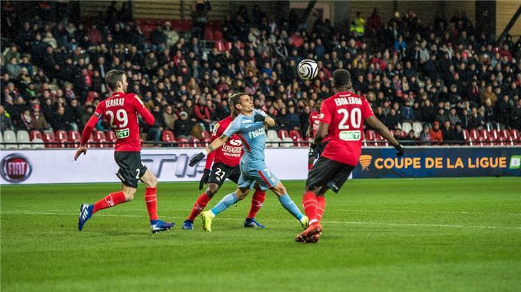 موناكو يواصل السقوط ويخرج من كأس الرابطة وجانجون يتأهل للنهائي