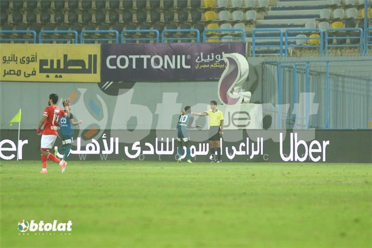الشناوي يحسم الجدل بشأن هدف إنبي الملغي في مباراة الأهلي