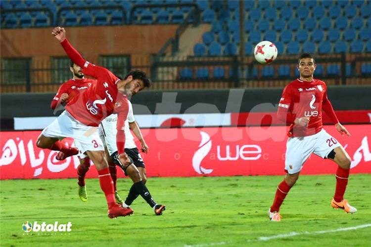 5 scenes from the game of Ahli and border guards .. Hamdi Fathi score and injury Ashour and a controversial new goal 88