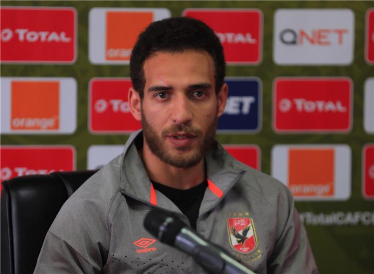 هشام محمد ظروف مواجهة الأهلي وسيمبا غد ا تختلف عن مباراة الخماسية وندرك صعوبة المرحلة الحالية