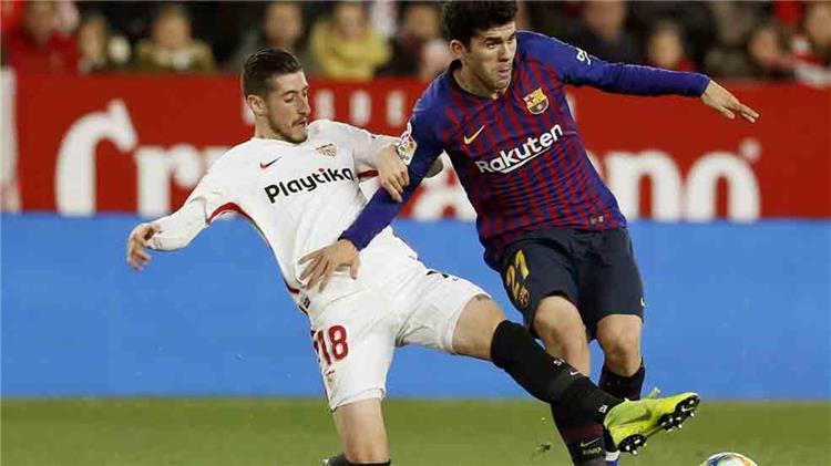 إشبيلية يتلقى ضربة قوية قبل مواجهة برشلونة