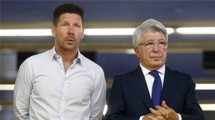 رئيس اتلتيكو مدريد: سيميوني كل شيء بالنسبة لنا ولا أدين احتفاله