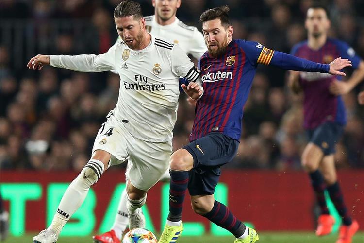 تشكيل المباراة | راموس يقود ريال مدريد أمام برشلونة وميسي أساسيًا