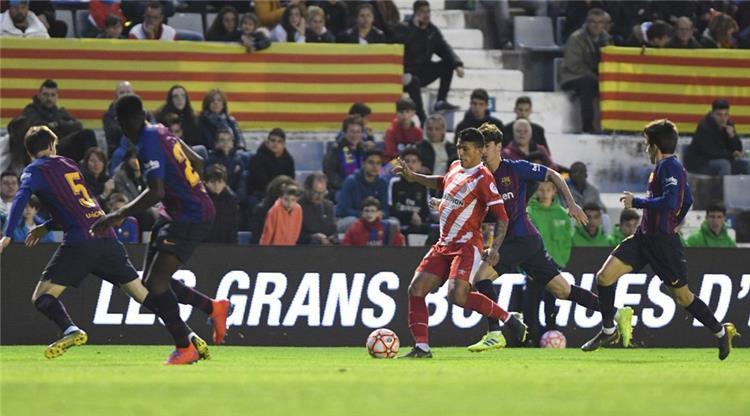 بالفيديو جيرونا بطل ا لكأس السوبر الكتالوني على حساب برشلونة