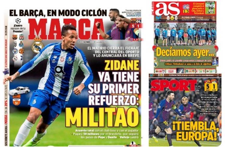صحف إسبانيا الخميس 14 مارس 2019