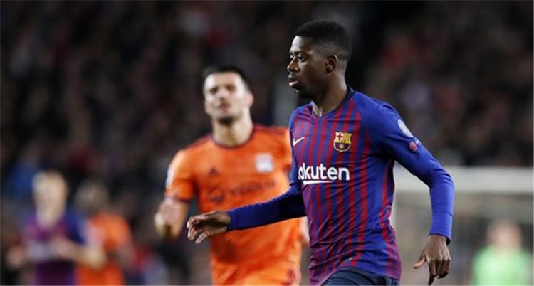 عاجل برشلونة يعلن إصابة ديمبلي ويكشف مدة غيابه