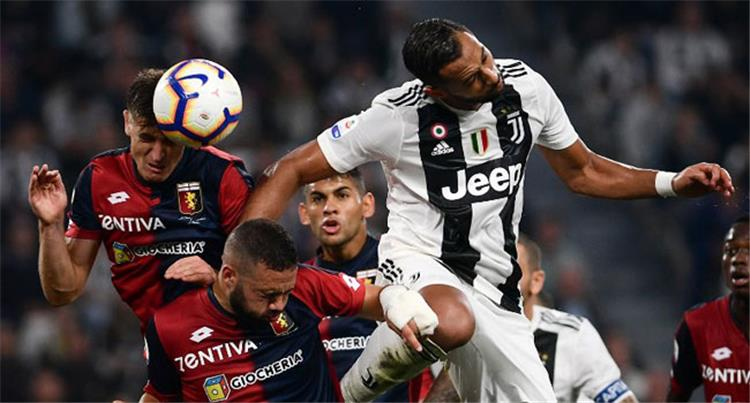 Date and channel carrier and comment Juventus and Genoa in the Italian league 86