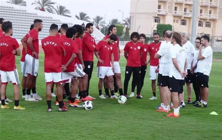 Egypt goalkeeper is injured in Borg El Arab camp 86