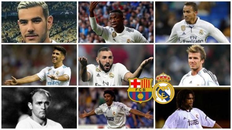 فينيسيوس بنزيما وبيكهام على رأس 10 نجوم تفاوضوا مع برشلونة ووقعوا لريال مدريد