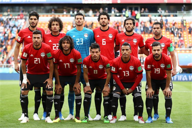 Egypt team in the qualifiers of African Nations 2019 after a draw with Niger 54