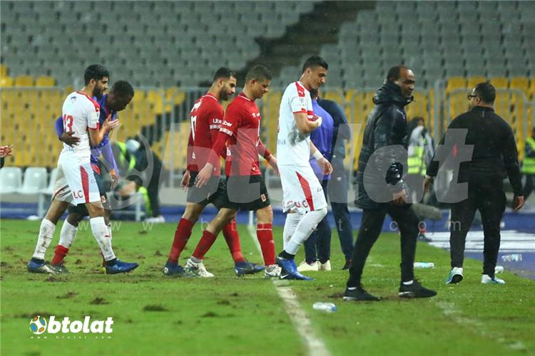 top match 117 .. zamalek president: players faced a crazy referee and senegalese football in the meeting ahli